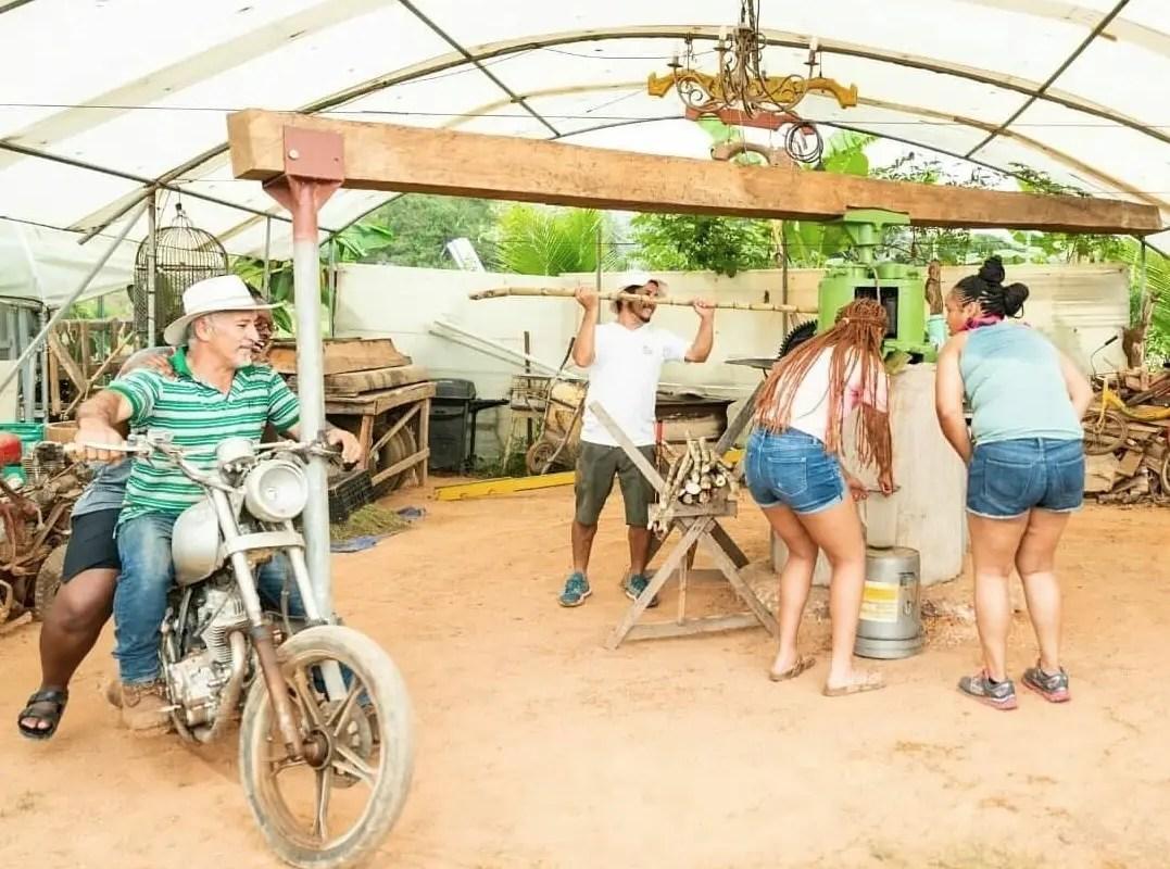 Mototrapiche se convierte en atracción turística