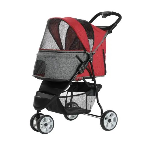 Petty Man 818 Pet Stroller (3 Colors)
