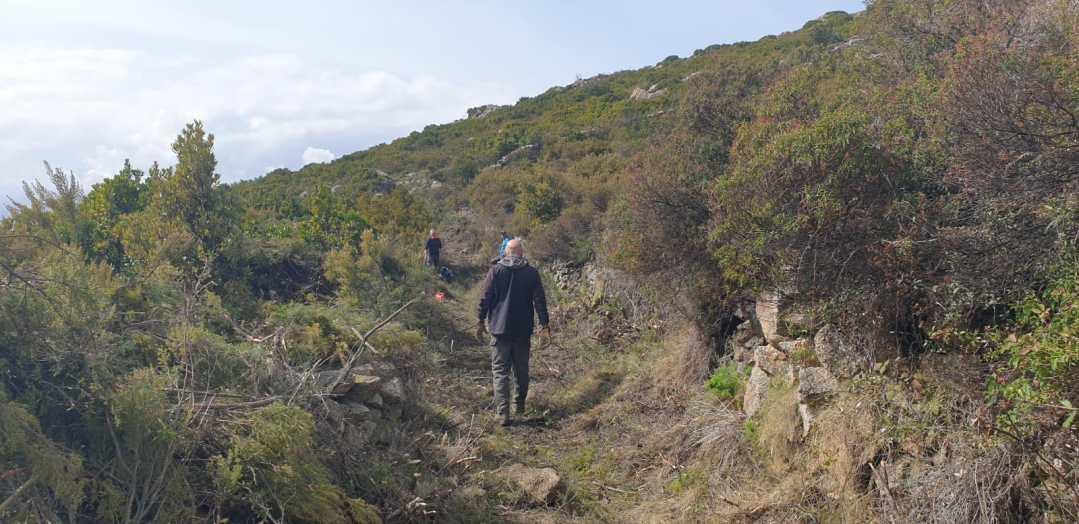 Réouverture chemin - A petralbinca