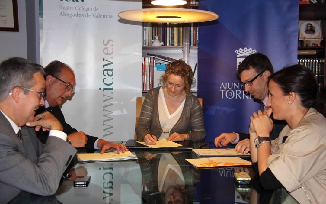 Torrent firma un convenio de colaboración con el ICAV