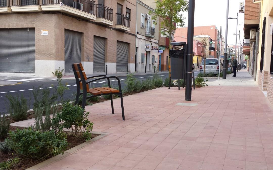 Abre la nueva calle Valencia