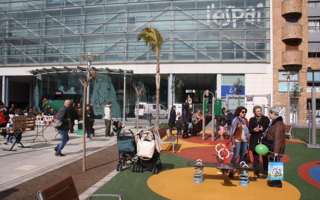 Finaliza la reurbanización de la plaza Unió Musical de Torrent