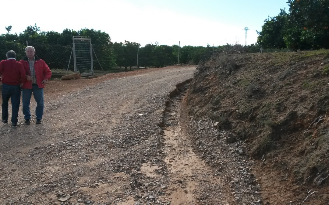 Agricultores de Torrent solicitan el asfaltado de la partida del Modroñal