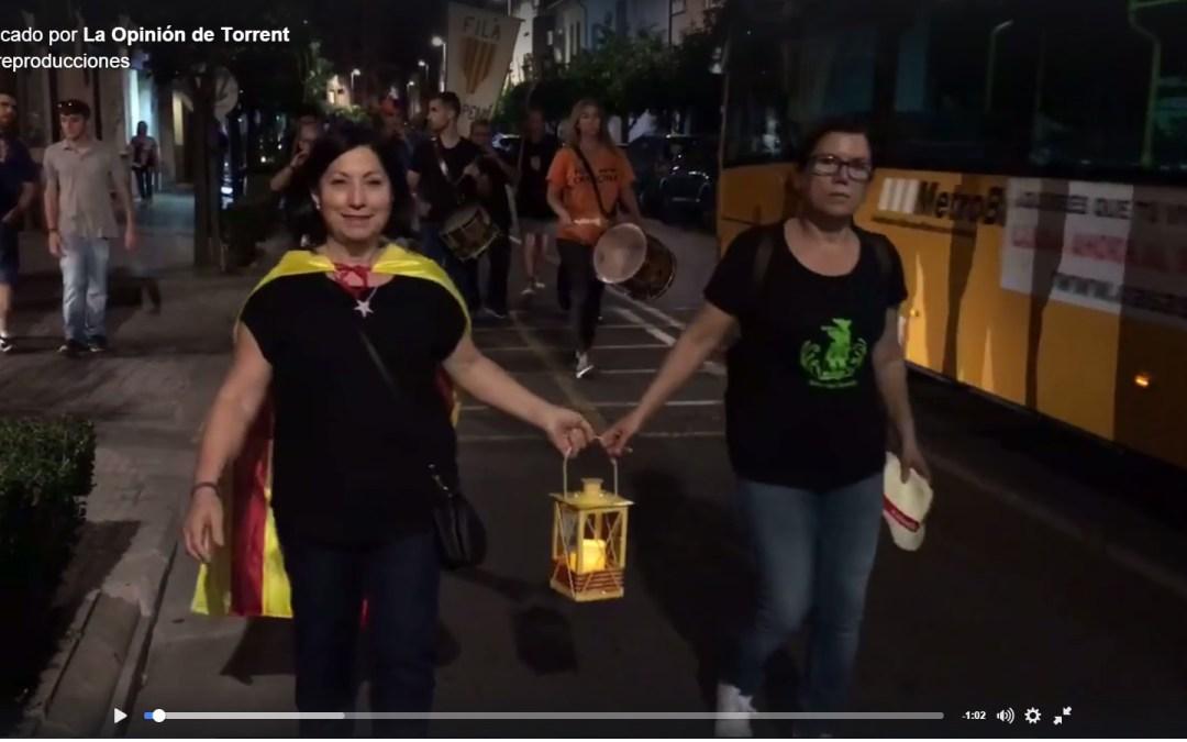 """El PP denuncia que en un acto del 9 d'Octubre del Ayuntamiento de Torrent """"se exigió el derecho a decidir el futuro del País Valencià"""""""