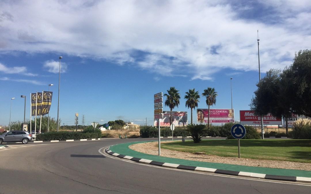 La Generalitat apenas destina un 0,9% del coste del puente del McDonalds en 2019