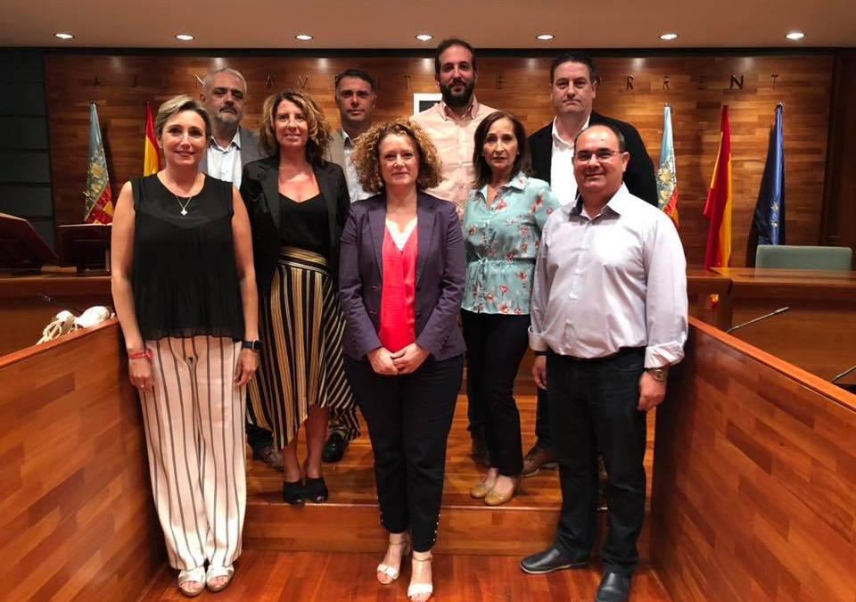 Sagrario Carratalà y Arturo García toman posesión como concejales del Partido Popular