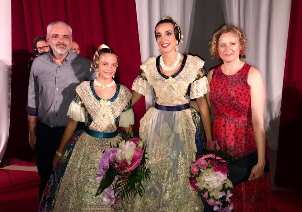 El PP felicita a las Falleras Mayores de Torrent 2020, Alicia Pallardó y Sandra Peris