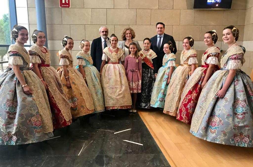 El PP participa en las exaltaciones de las Falleras Mayores de Torrent 2020