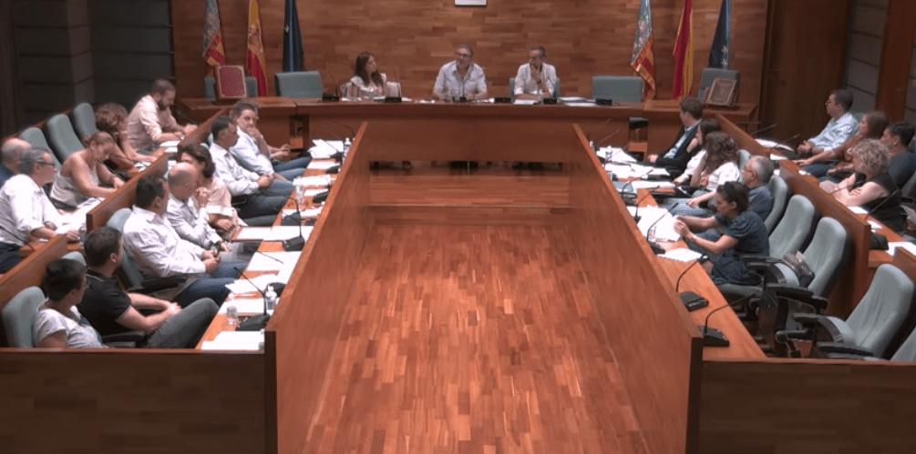 Folgado defiende a los mayores de Torrent en el Pleno municipal