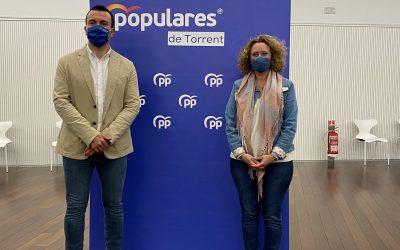 Amparo Folgado elegida nueva presidenta del PP de Torrent en el 7º Congreso Local