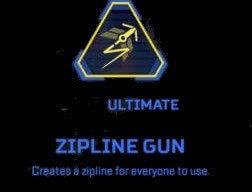 Zipline gun Apex Legends pathfinder Ultimate abilities