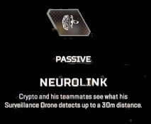 crypto apex legends passive ability neurolink