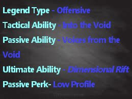 Wraith Apex Legends Abilities