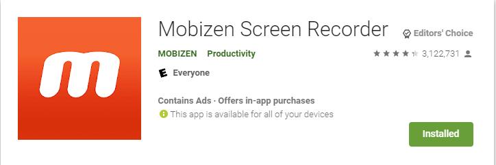 Best Apex Legends Mobile Screen Recorder (Mobizen Screen Recorder)