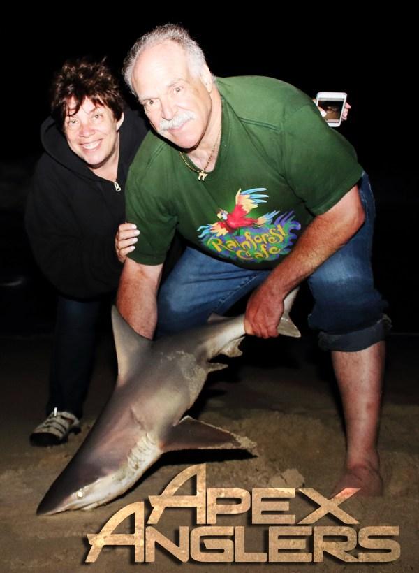 Doc + Wife Sandbar Shark1