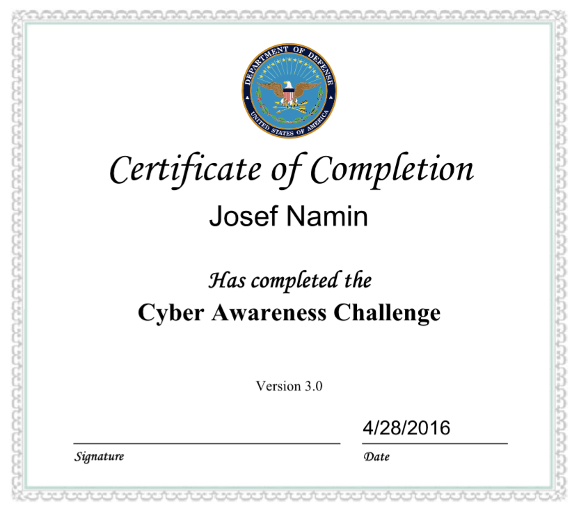 Cyber Security Training Certification