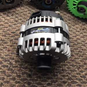 Silver AD244 High Output Alternator