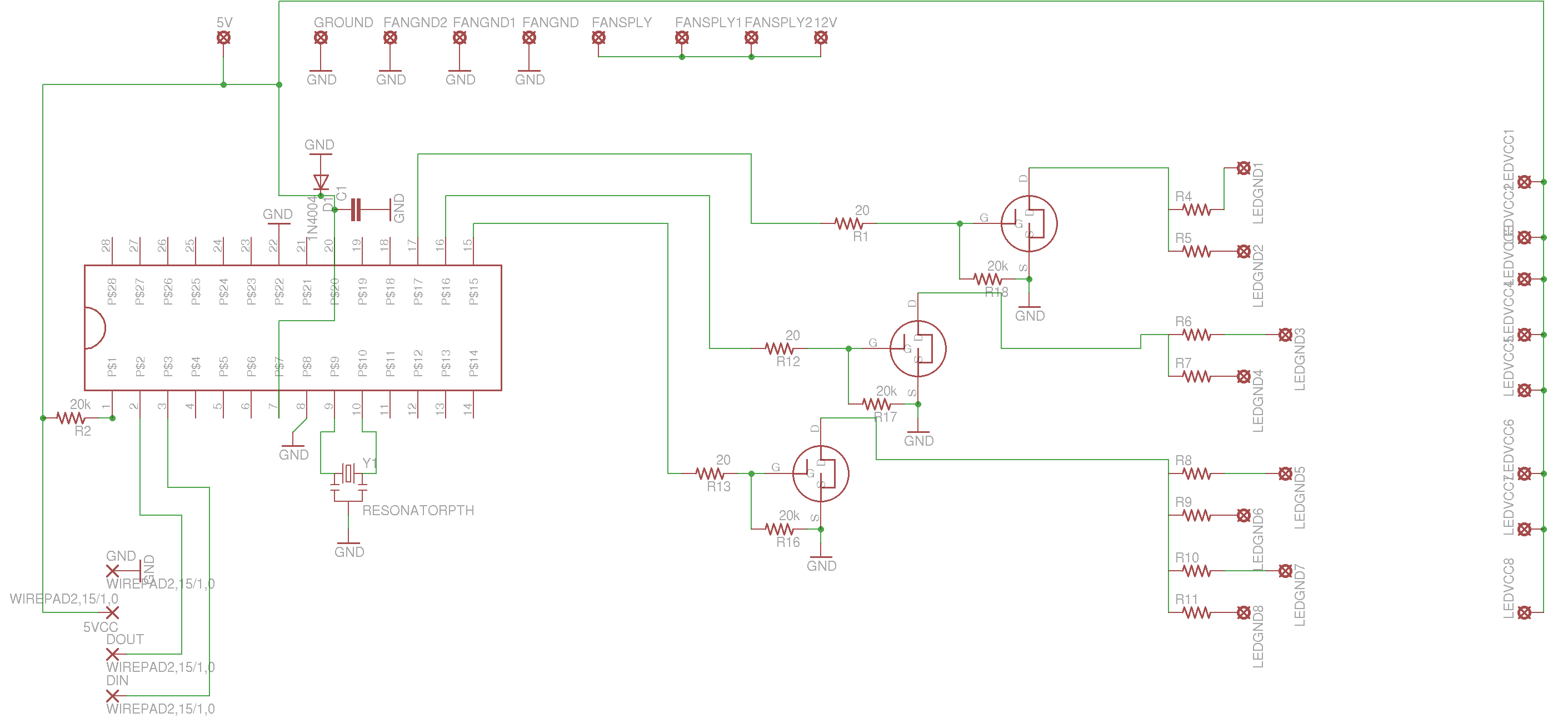 Fiber Optic Chandelier Pcb S Apex Logic