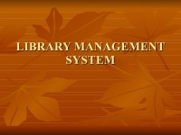 LMS -Library Management