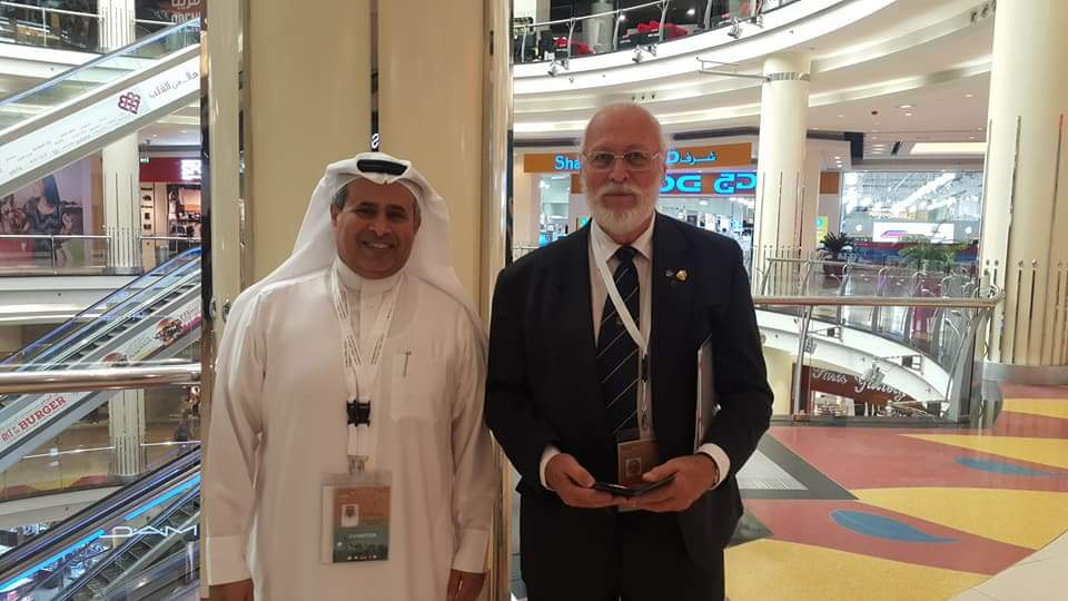 Tony Presgrave, Australia, Sharjah Stamp Exhibition