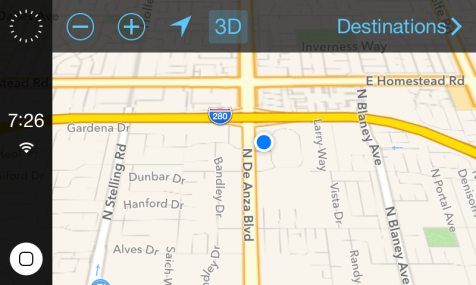 iOS in the Car. Navigation.