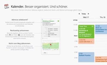 OS X Mavericks - Kalender