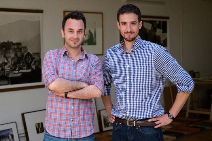 Die Macher von Bring! Marco Cerqui und Sandro Strebel.