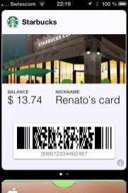 Starbucks Kundenkarte