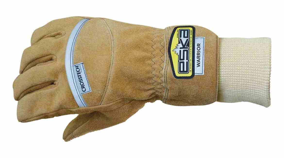 WARRIOR is a tactical glove made of a new developed Fire Block leather.