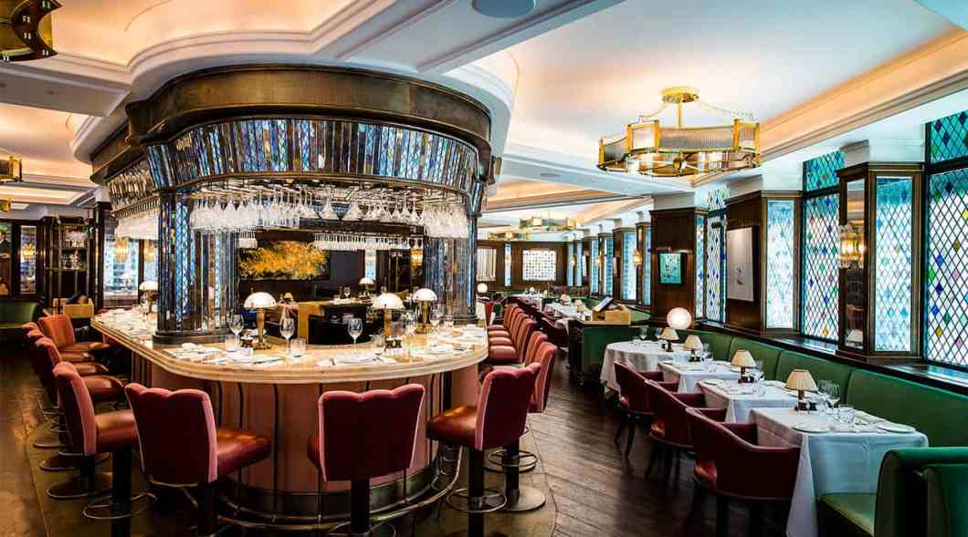 The Ivy bar and tables by Paul Winch Furness HR