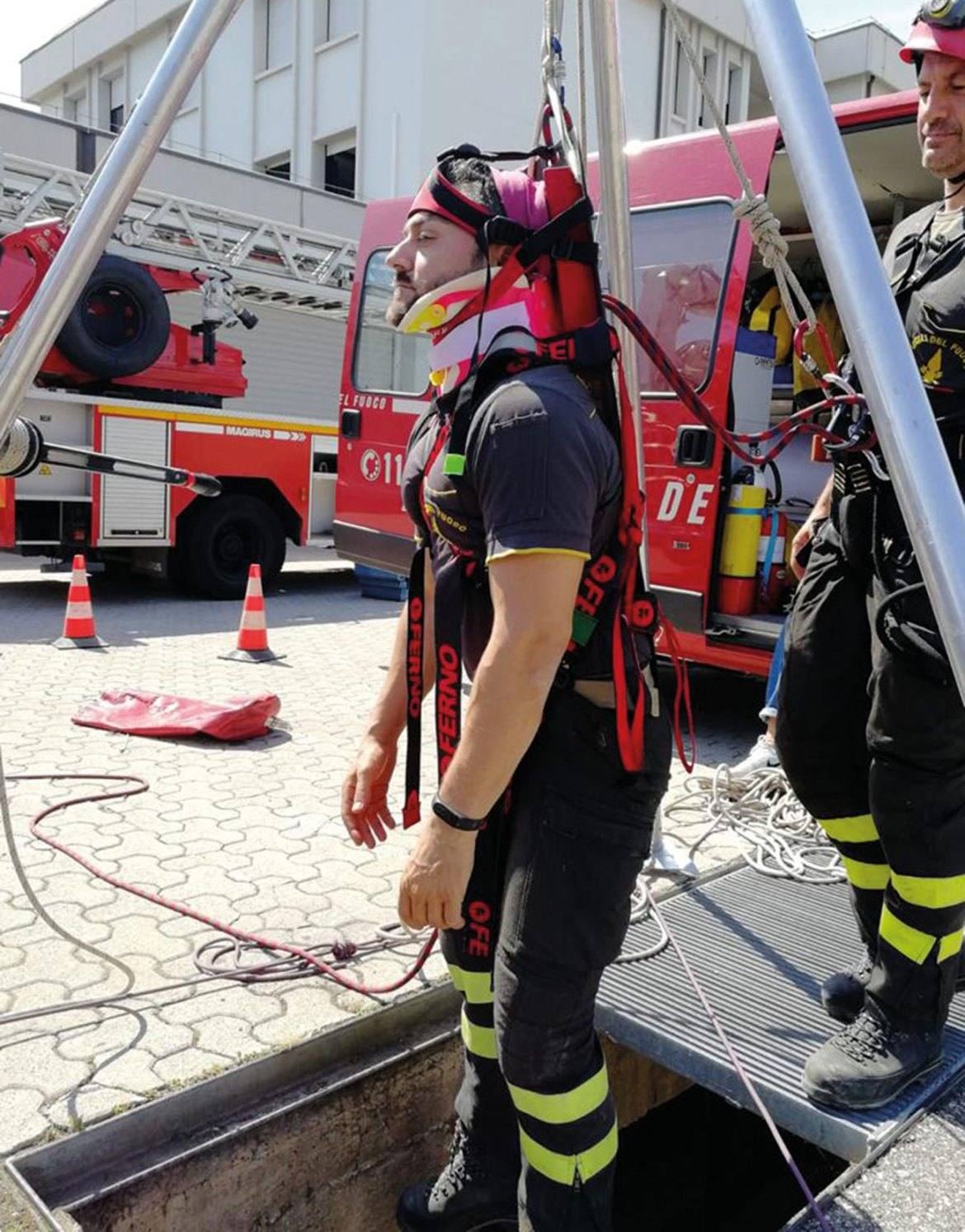 Confined-space rescue requires time efficiencies and specialized equipment which are key features of the Ferno XT Pro.