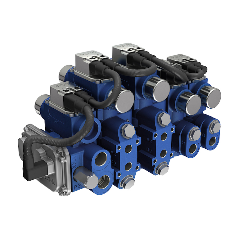 The Eaton CMA advanced mobile valve is at the heart of Eaton's system solution for aerial fire apparatus. (Eaton)