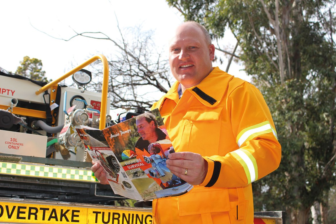 Aussie's Fire Survival Guide is useful for homeowners and professionals.