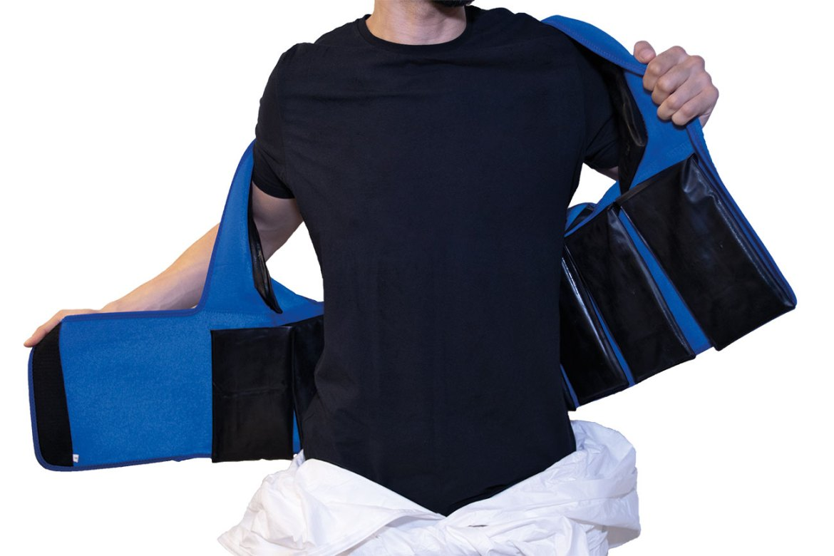 Comfort Suit – Prevents heat stress and provides sustained comfort cooling •Helps reduce loss of body fluids and slows increase in body temperature, heart rate and blood pressure in extreme environments.