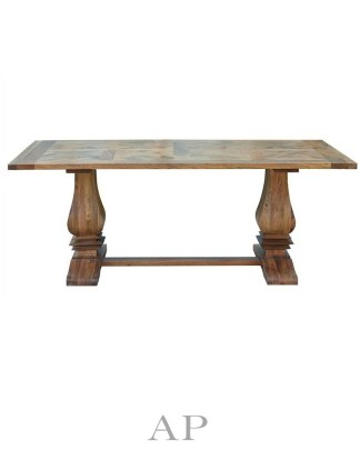 french-taylor-acacia-wood-dining-table-parquetry-top-oak-gloss-side-2-ap-furniture