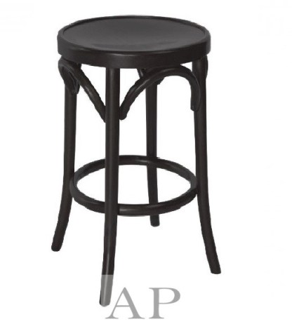 Bentwood-Stool-black-ap-furniture