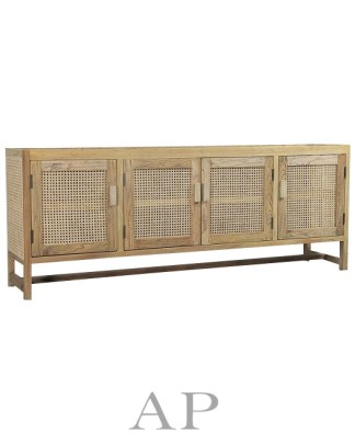 willow-rattan-woven-4-door-entertainment-cabinet-natural-NN-side-ap-furniture