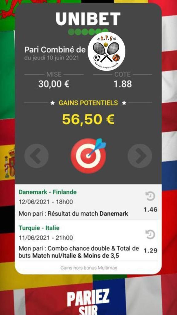 1er paris challenge - ticket