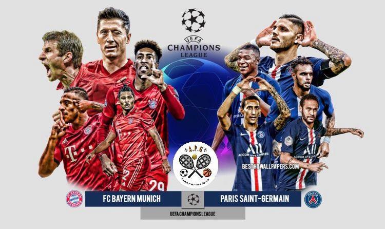 Quarts de finale Ligue des Champions Bayern Munich PSG