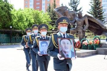 Останки акмолинских бойцов захоронят на родине спустя 79 лет