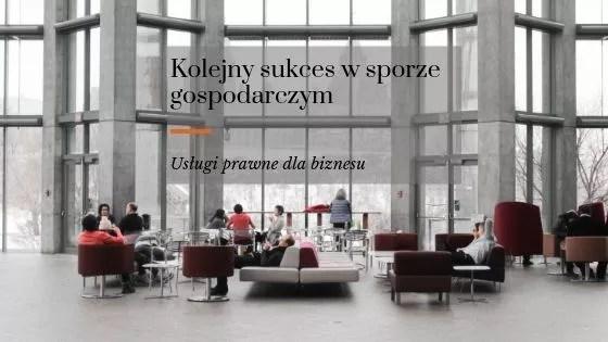 Adwokat prawo gospodarcze Kraków