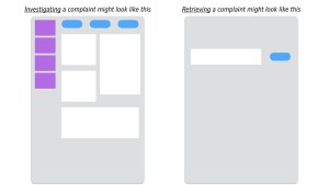 Investigating vs retrieving a complaint