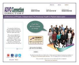 AdvoConnection Directory Homepage