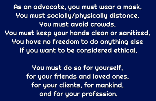 ethical advocate