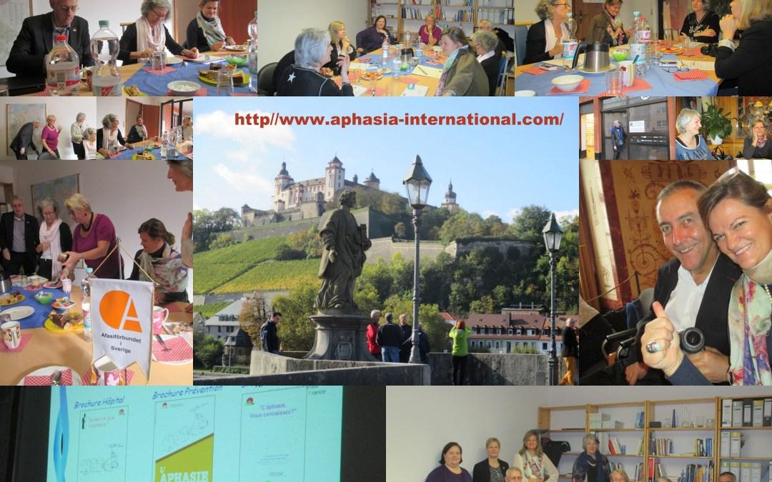 2014.10.23-26. Nemzetközi Afázia Szövetség közgyűlés – Würzburg, Németország