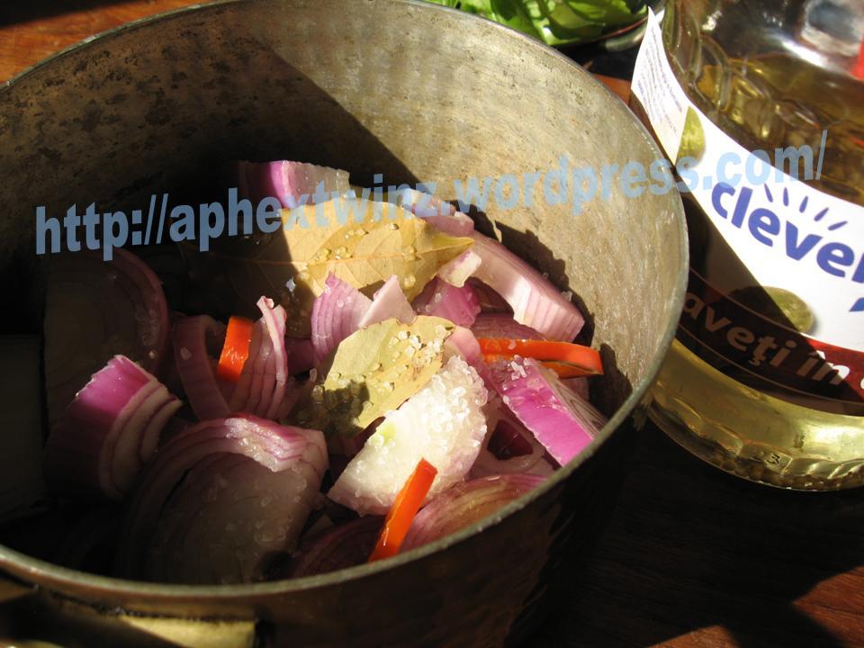 Chiftelute de vita cu ceapa marinata si maioneza (2/6)