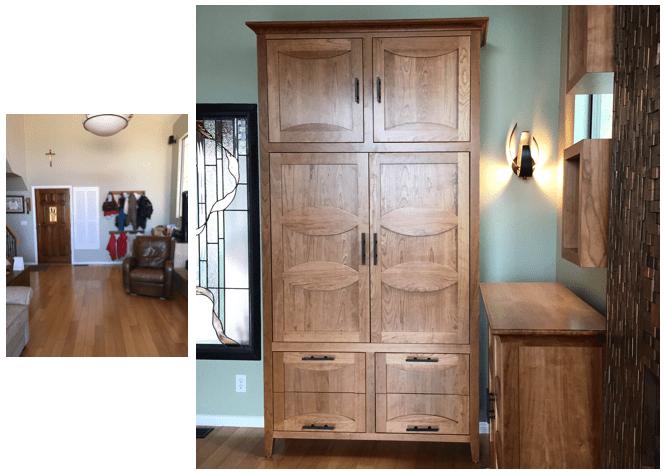 Newbury Park Contemporary Entry - Alicia Paley Home Interiors