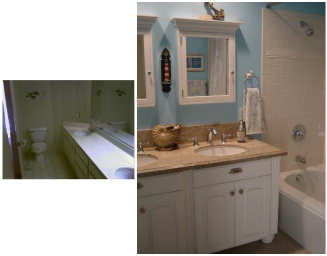 Lynn Ranch Coastal Bathroom - Alicia Paley Home Interiors