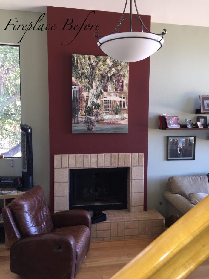 Before - Newbury Park Fireplace Design