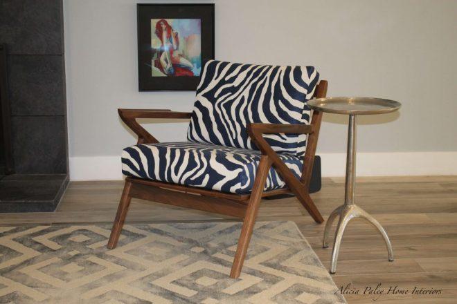 Thousand Oaks Living Room - Zebra Pattern